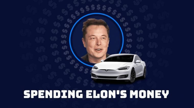 Te el tudnád költeni Elon Musk teljes vagyonát fél perc alatt? kép