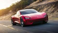 Még nagyon messze lehet a Tesla Roadster megjelenése kép
