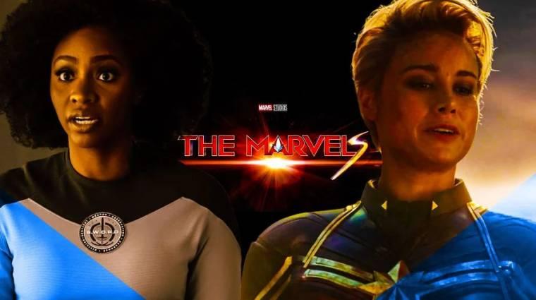 Sokat elárul a Marvel Kapitány 2, vagyis a The Marvels logója bevezetőkép