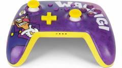 Ki kér egy borzalmasan ronda Waluigi kontrollert a Switchéhez? kép