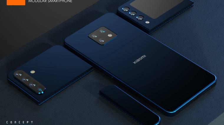 Egyénileg cserélhető alkatrészes okostelefont szabadalmaztatott a Xiaomi kép