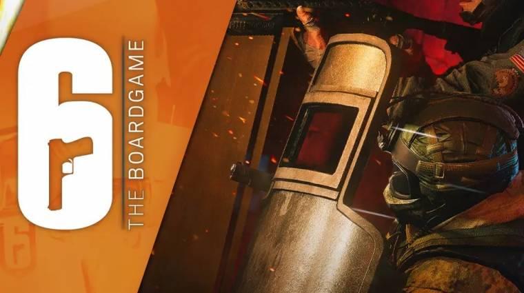 Traileren és fotókon a Rainbow Six: Siege-társasjáték bevezetőkép