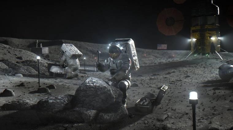 Fotókon az óriási rakéta, ami visszarepíti az embert a Holdra kép