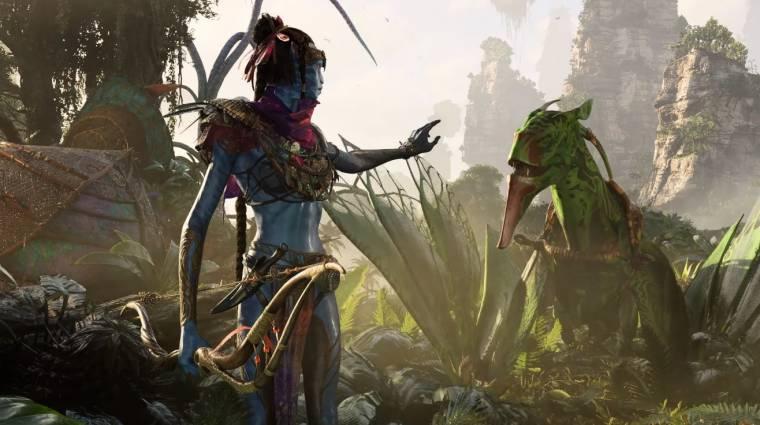 Nem a filmek feldolgozása lesz az Avatar: Frontiers of Pandora bevezetőkép