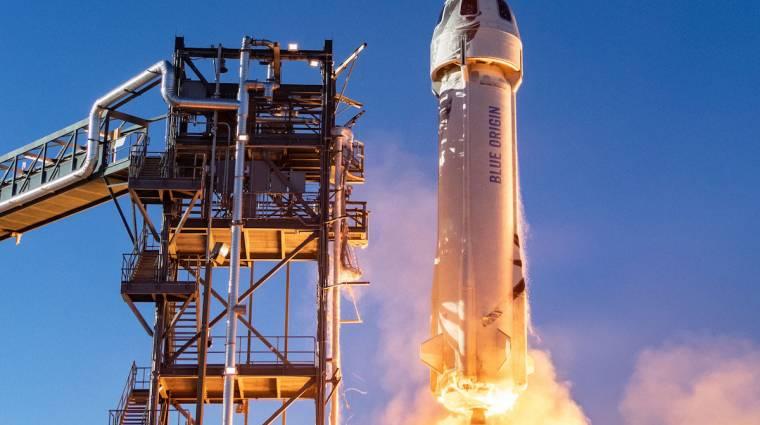 Itt nézhetjük majd Jeff Bezos első, több szempontból is izgalmas űrutazását kép