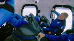 Videó a fedélzetről: elámult világűrtől a Star Trek 90 éves sztárja kép