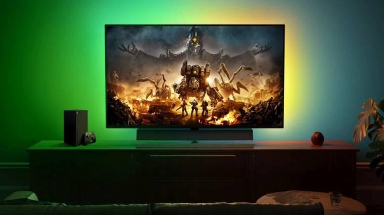 Kifejezetten Xbox Series X|S-hez ajánlott monitorokat leplezett le a Microsoft kép