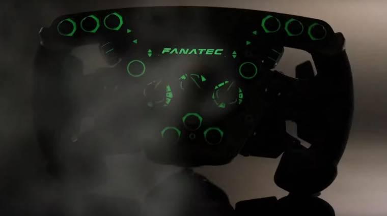 A Fanatec F1-szimulátorkormánya tökéletesen élethű és már nem lehet a tiéd kép