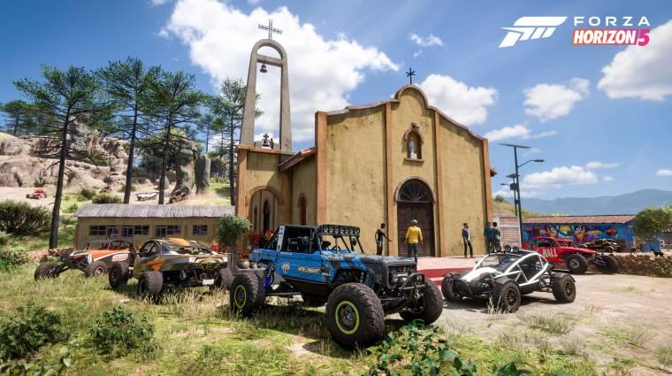 Mexikóba repít minket a Forza Horizon 5 bevezetőkép
