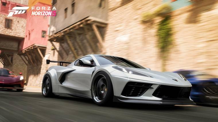 Rengeteg autót vezethetünk a Forza Horizon 5-ben, itt az első adag bevezetőkép