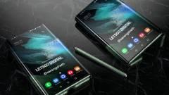 Jöhet a Samsung hajtogatható táblagépe kép