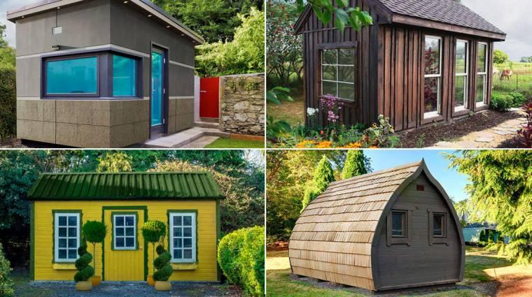 Filmek és sorozatok ihlették ezeket a kerti sufninak álcázott otthoni irodákat kép