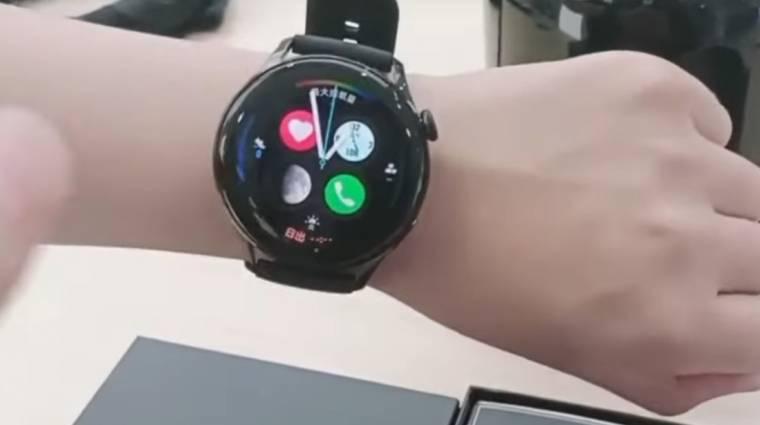 Kiszivárogtak a Huawei új okosórái kép