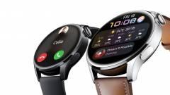 Két változatban mutatkozott be a Huawei Watch 3 kép