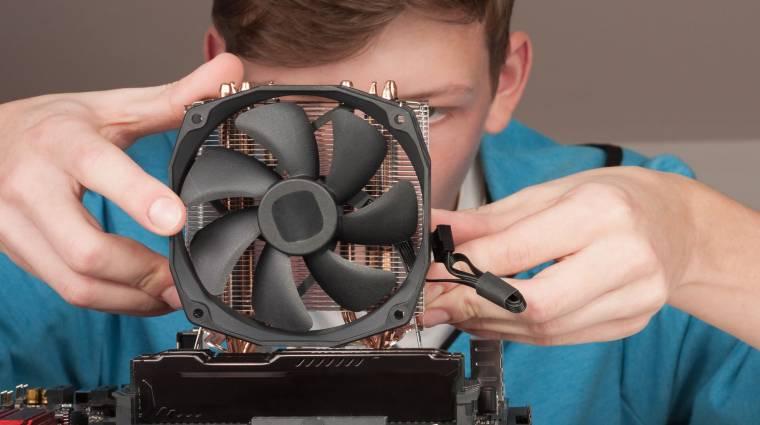Így tisztítsd meg a processzorhűtőt! kép