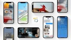 Komoly döntést kell meghozni, ha letöltjük az iOS 15-öt kép