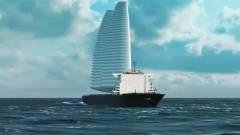 Felfújható vitorlákat szerelnének a tengerjárókra kép