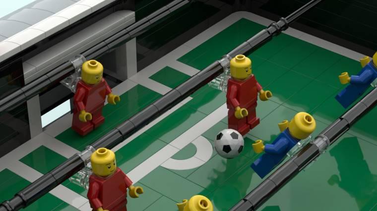Magyar ötlet nyomán készít csocsóasztalt a LEGO bevezetőkép