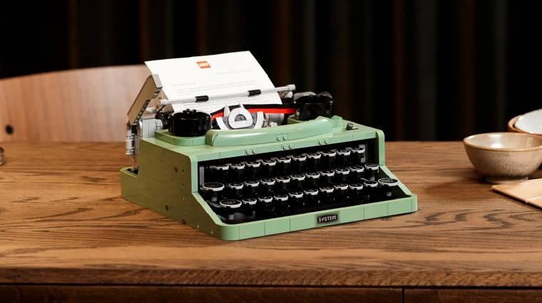 Egy írógép-replika lesz a következő LEGO Ideas szett bevezetőkép