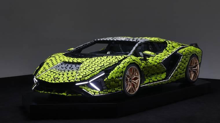 Ez a LEGO Lamborghini nehezebb, mint az igazi autó bevezetőkép