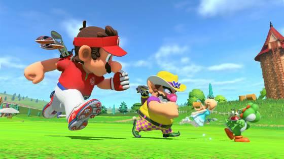 Mario Golf: Super Rush infódoboz