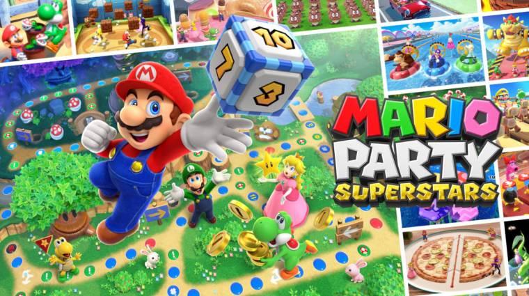 Rengeteg minijátékkal érkezik a Mario Party Superstars bevezetőkép