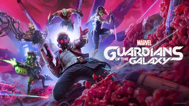 Bemutatkozott a Marvel's Guardians of the Galaxy bevezetőkép