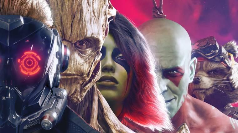 Elkészült a Marvel's Guardians of the Galaxy, sínen a megjelenés bevezetőkép