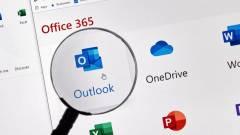 Alaposan megváltozik a Windows 10-es Outlook kép