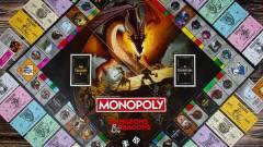 Ingatlanok helyett szörnyeket harácsolhatunk a Dungeons & Dragons Monopolyban kép