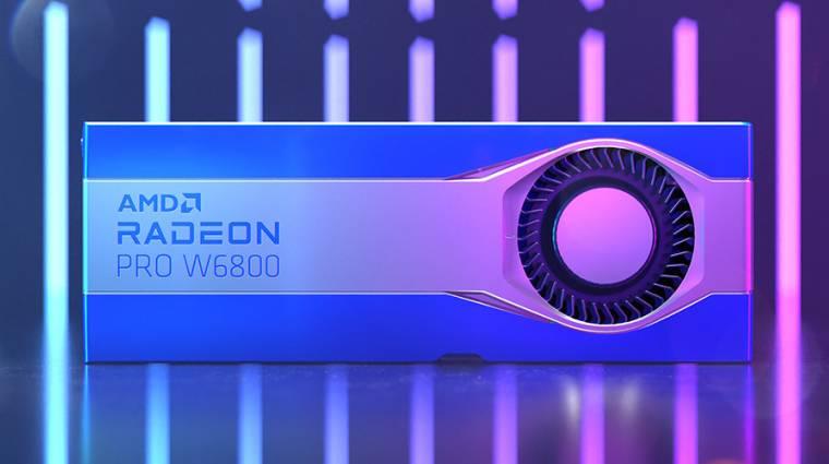 Hivatalosan is bemutatkoztak az új Radeon Pro videokártyák kép