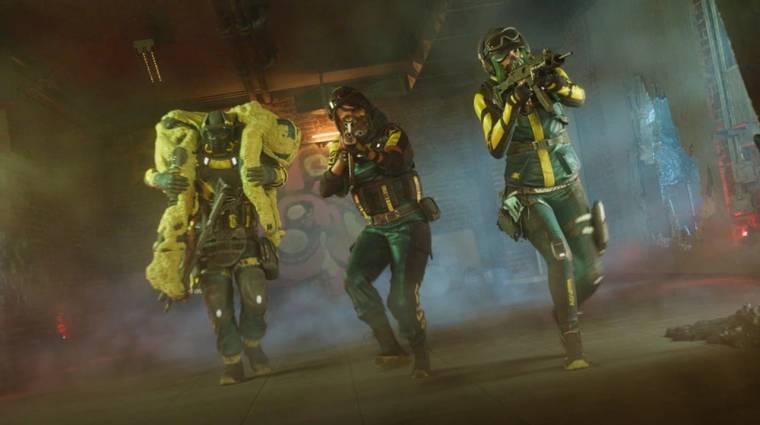 Új nevén is bemutatkozott a Rainbow Six: Extraction bevezetőkép