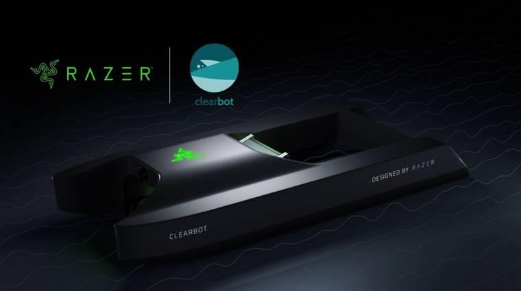 Óceántisztító robotot tervezett a Razer kép