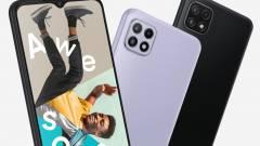 Könnyen megfizethető 5G okostelefonon dolgozik a Samsung kép