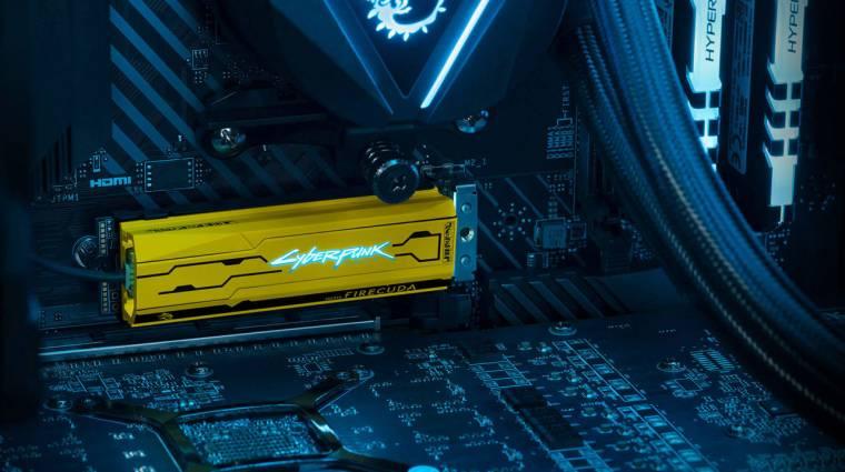 Cyberpunk 2077 stílusú SSD-vel rukkolt elő a Seagate kép