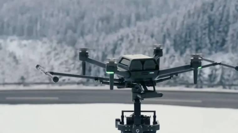A Sony legújabb professzionális drónja egy kisebb vagyonba kerül kép