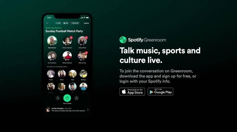 Clubhouse-riválist indított a Spotify kép