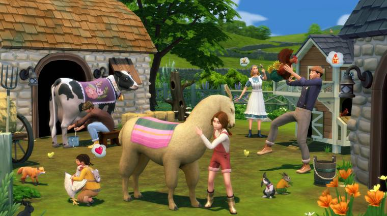 Falura költözhetünk a The Sims 4 következő kiegészítőjében bevezetőkép