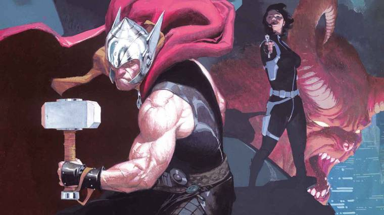 Istennek lenni nehéz - Jason Aaron: Thor: A mennydörgés istene 2 kép