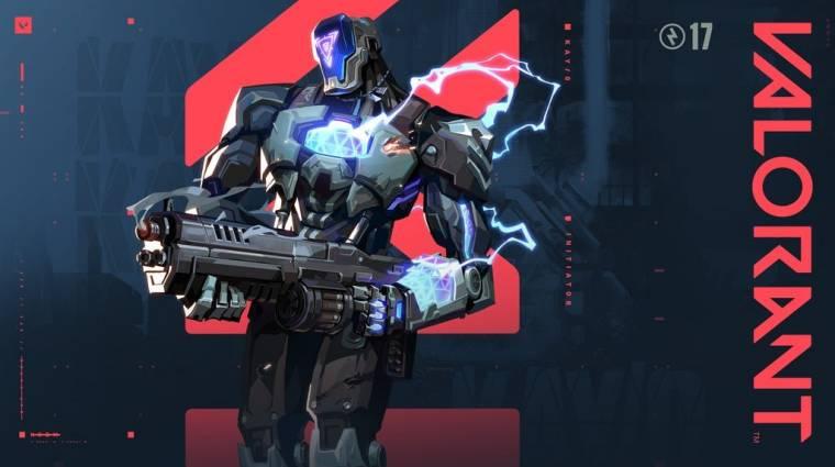 Egy combos robot lesz a Valorant következő karaktere bevezetőkép