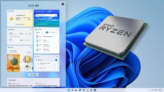 Vége a Windows 11 gyenge AMD-s teljesítményét okozó hibáknak kép