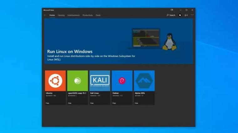 Könnyedén futtathatóak lesznek Linux programok a Windows 11-nek köszönhetően kép