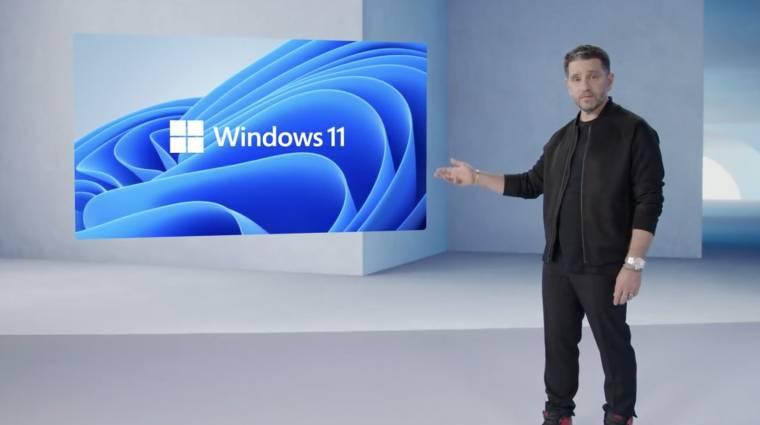Hivatalosan is bemutatkozott a Windows 11 kép