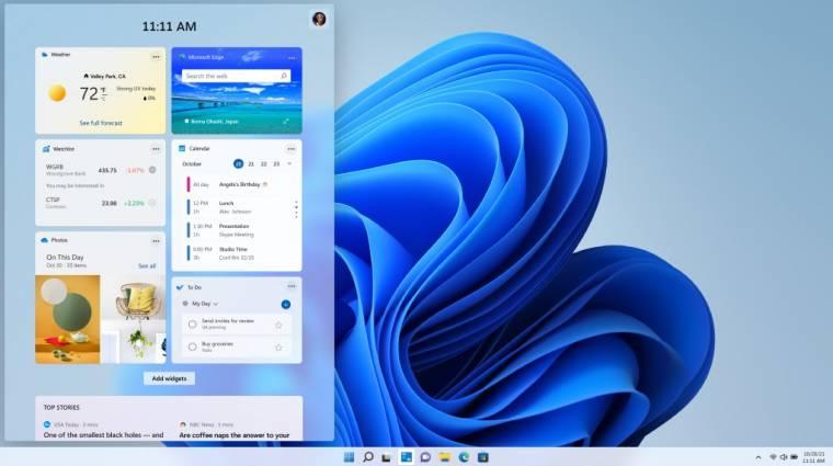 Elérhető a Windows 11 első bétája kép