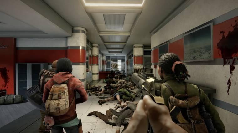 Videón a World War Z: Aftermath FPS-módja bevezetőkép