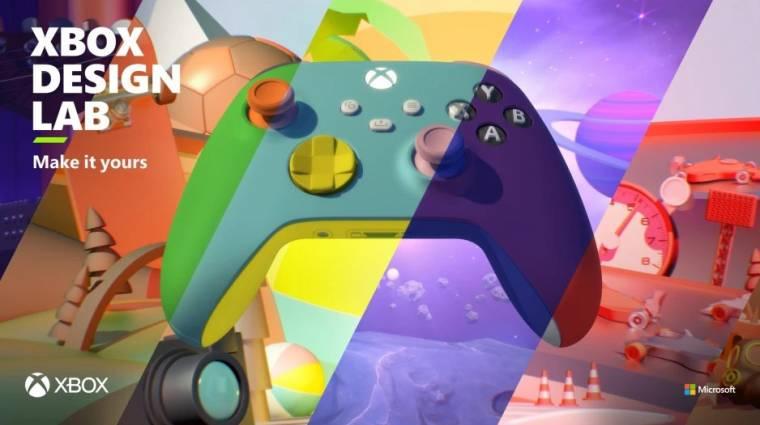 Visszatérnek az Xbox személyre szabható kontrollerei bevezetőkép