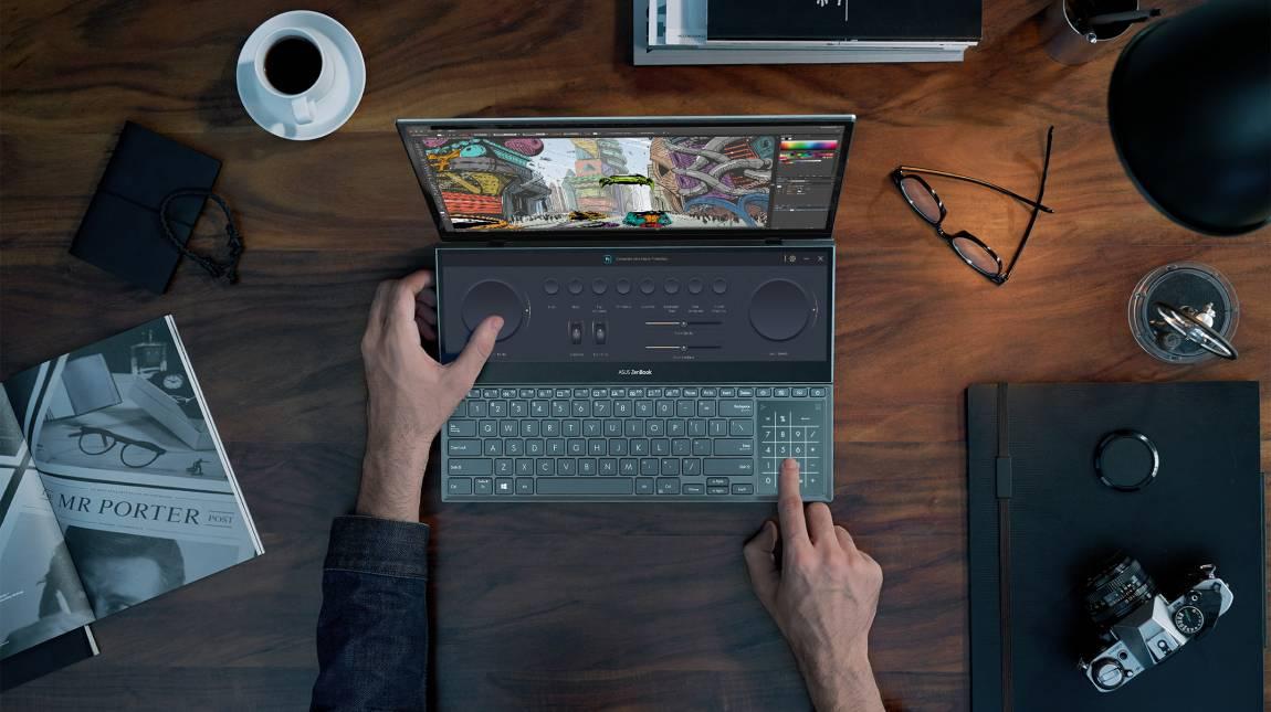 Asus ZenBook Pro Duo 15 OLED teszt – OLED-kettőslátás kép