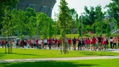 Hőkamerák védték a foci Eb szurkolóit a Puskás Arénában kép