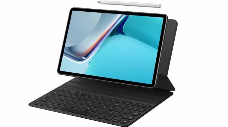 A KiberMa legutóbbi adásában is meséltünk a Huawei MatePad 11-ről kép
