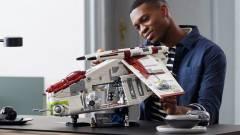 Hatalmas LEGO-szettben lehet a tied A klónok támadása csapatszállítója kép
